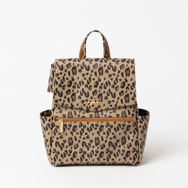 Mini Backpack in Leopard by Freshly Picked