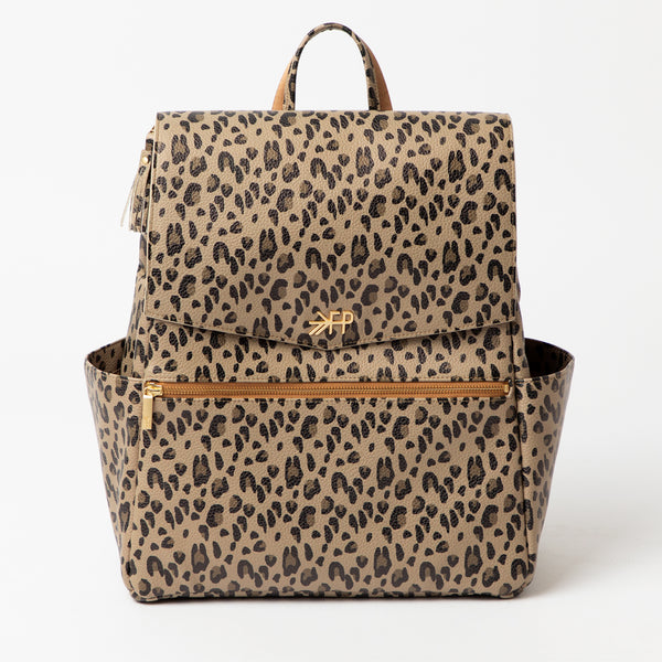 Classic Diaper Backpack in Leopard by Freshly Picked