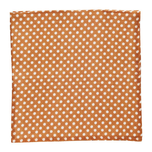 Swaddle in Amber Polka Dot by The Mini Scout