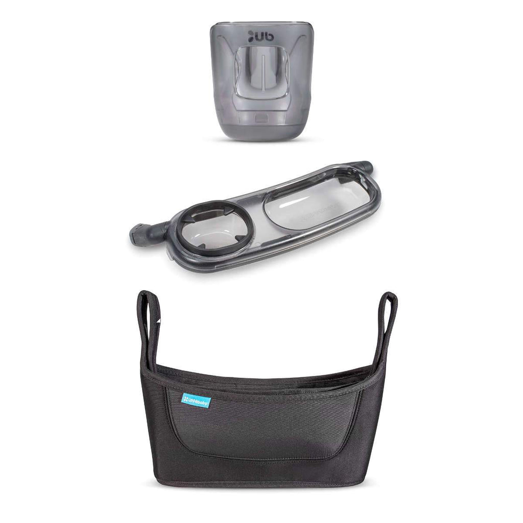 UPPAbaby VISTA/CRUZ Accessory Bundle - Cup Holder/Snack Tray/Carry-All