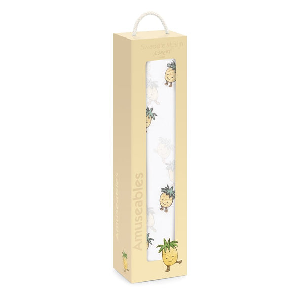 Amuseable Pineapple Swaddle by Jellycat