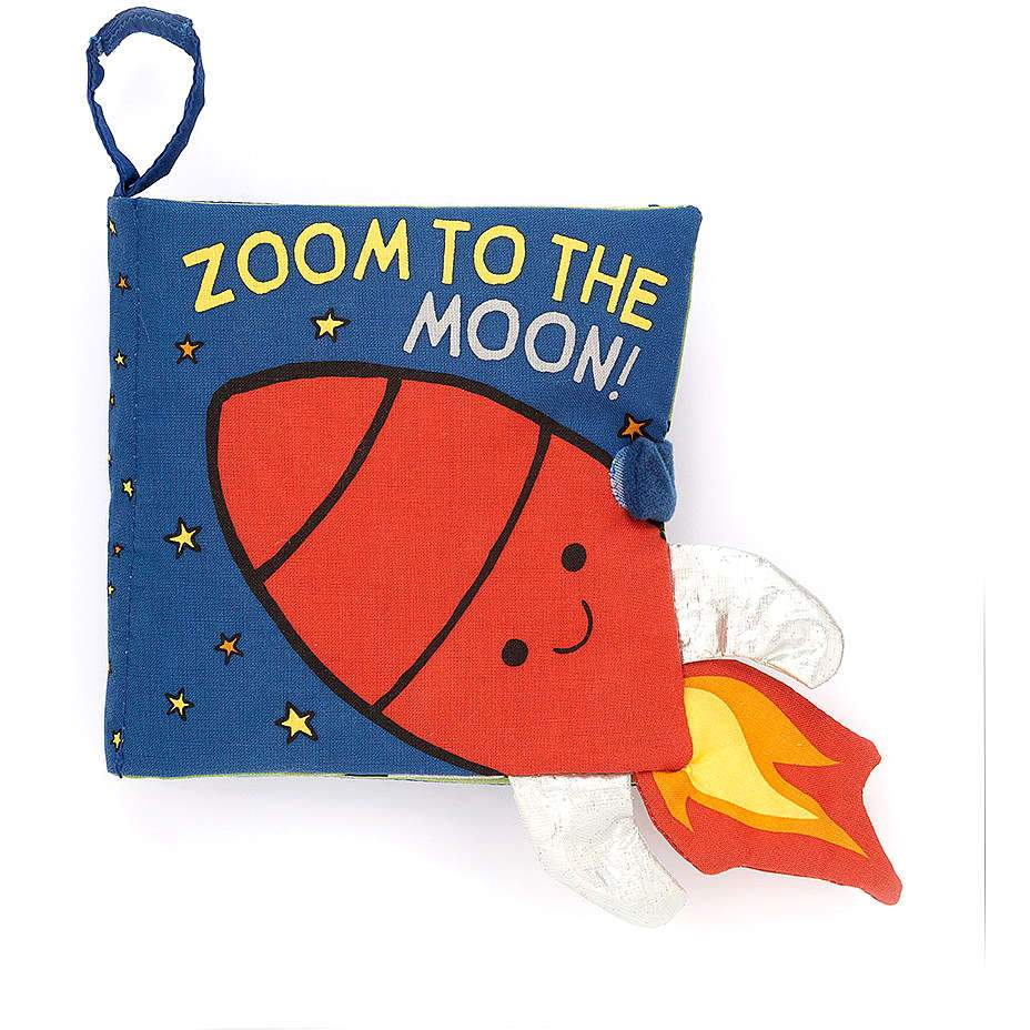 Zoom to the Moon Book by Jellycat