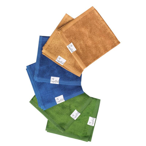 Bamboo Washcloths 6 Pack in River by Copper Pearl