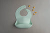 Silicone Bib in Mint by Loulou Lollipop