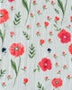 Cotton Muslin Swaddle Blanket in Summer Poppy by Little Unicorn
