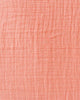 Cotton Muslin Single in Coral by Little Unicorn