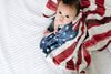 Three-Layer Quilt in Patriot by Copper Pearl