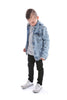 Distressed Denim Jacket Kids by Beau Hudson