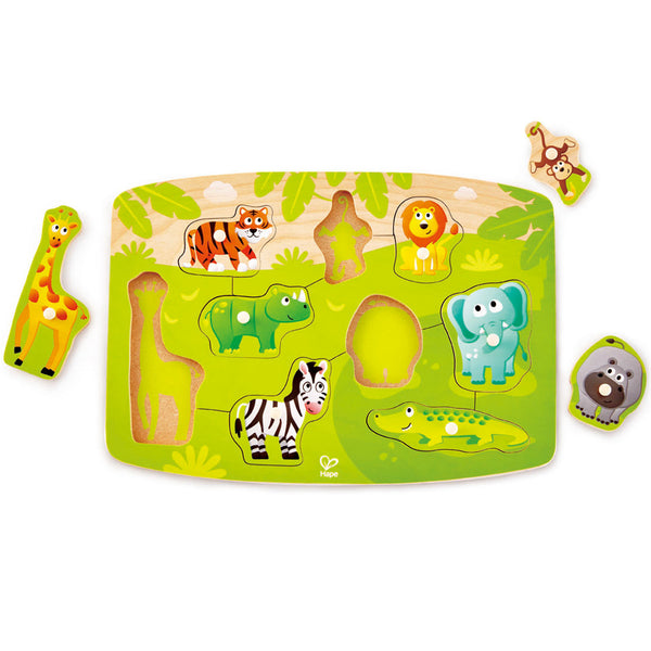 Jungle Peg Puzzle by Hape