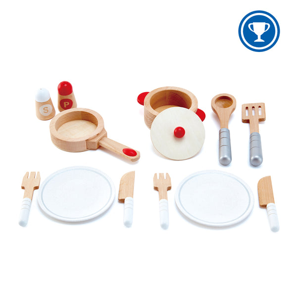 Cook & Serve Set by Hape