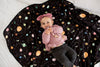 Muslin Swaddle in Planets by Loulou Lollipop