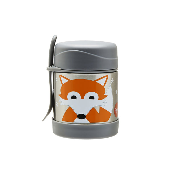 Stainless Steel Food Jar in Fox by 3 Sprouts