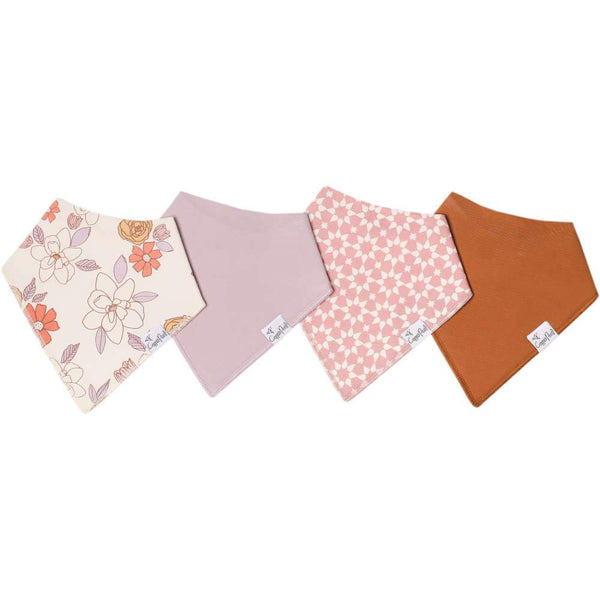 Baby Bandana Bibs in Ferra by Copper Pearl