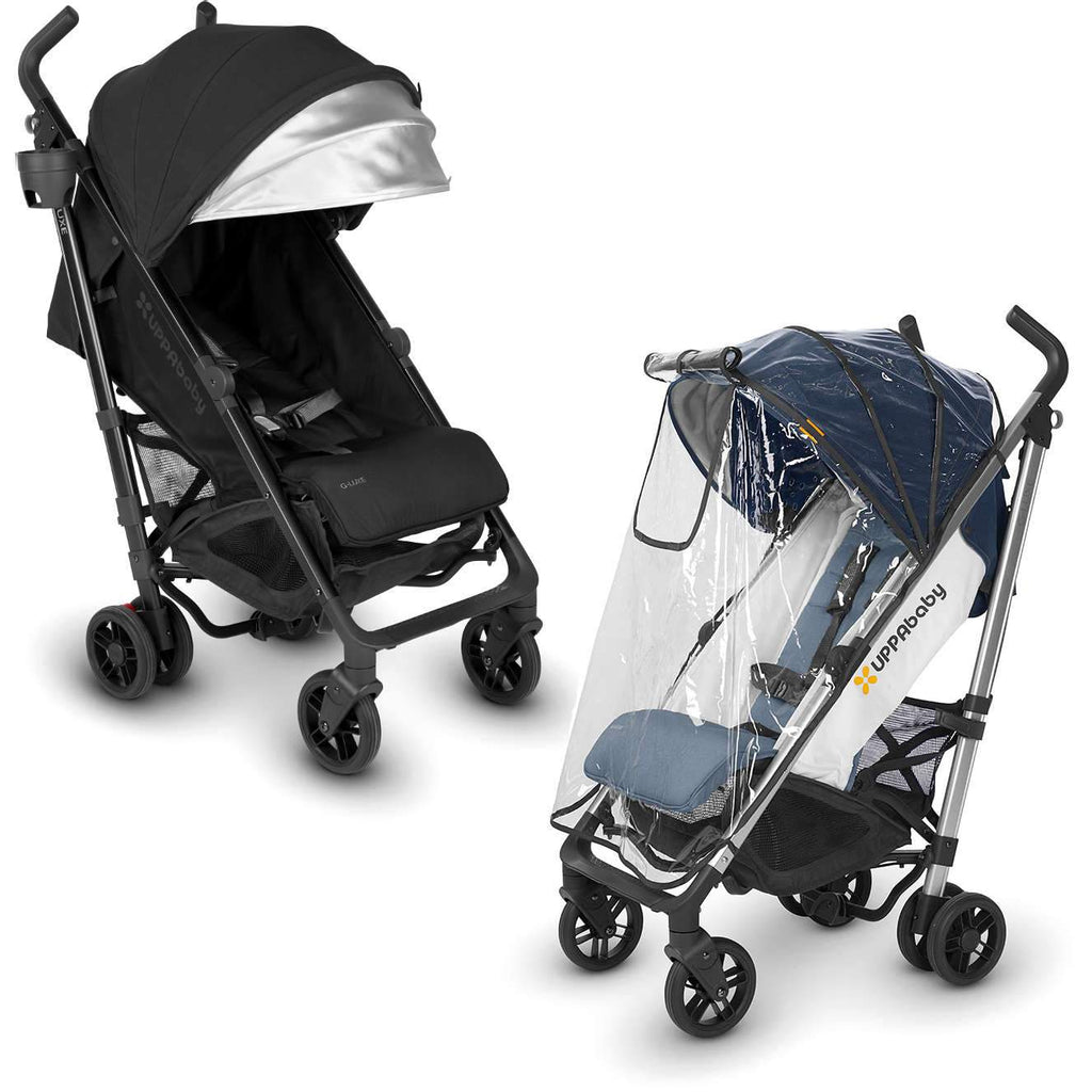 UPPAbaby G-LUXE Stroller in Jake + Rain Shield