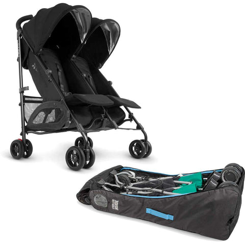 UPPAbaby G-LINK 2  Stroller in Jake + Travel Bag