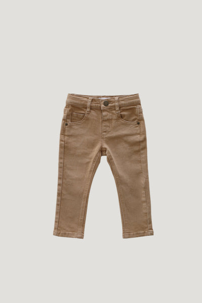 Slim Fit Jeans in Wheat by Jamie Kay