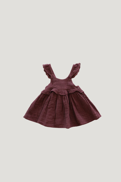 Organic Cotton Muslin Lola Top in Berry Sorbet by Jamie Kay