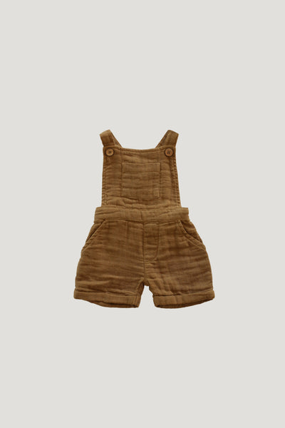 Organic Cotton Muslin Hugo Overall in Bronze by Jamie Kay