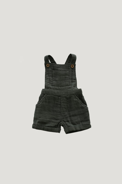 Organic Cotton Muslin Hugo Overall in Juniper by Jamie Kay