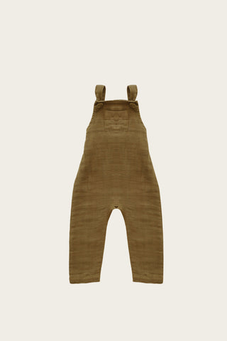 Organic Cotton Muslin River Onepiece in Gold by Jamie Kay