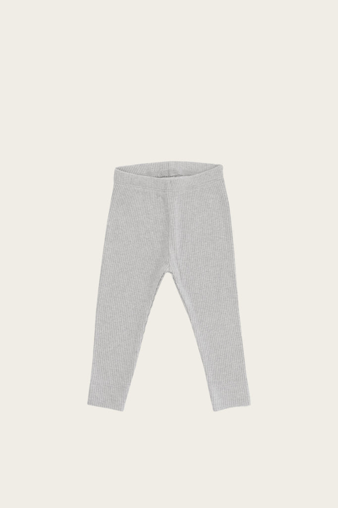 Organic Essential Leggings in Grey Marle by Jamie Kay