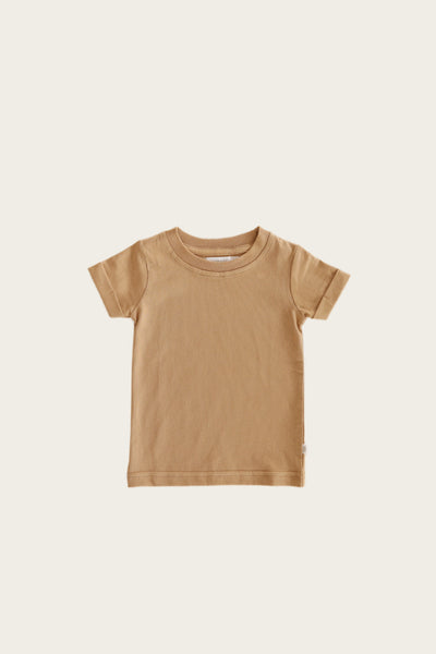 Organic Cotton Sam Tee in Desert by Jamie Kay