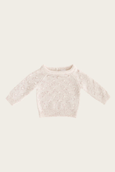Dotty Knit Sweater in Candy Sprinkles by Jamie Kay