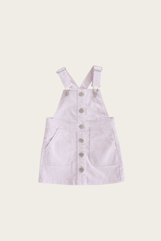 Grace Denim Dress in Soft Lilac by Jamie Kay