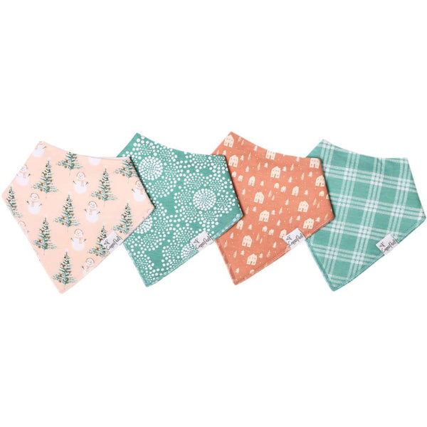 Baby Bandana Bibs in Jane by Copper Pearl