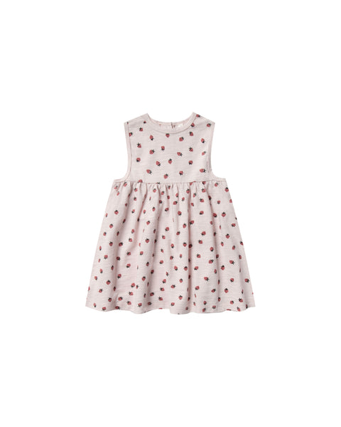 Layla Dress in Strawberry by Rylee + Cru
