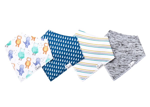 Baby Bandana Bibs in Max by Copper Pearl