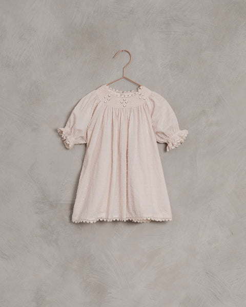 Maddie Dress in Powder Pink by Noralee