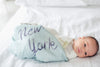 Muslin Swaddle in New York by Loulou Lollipop