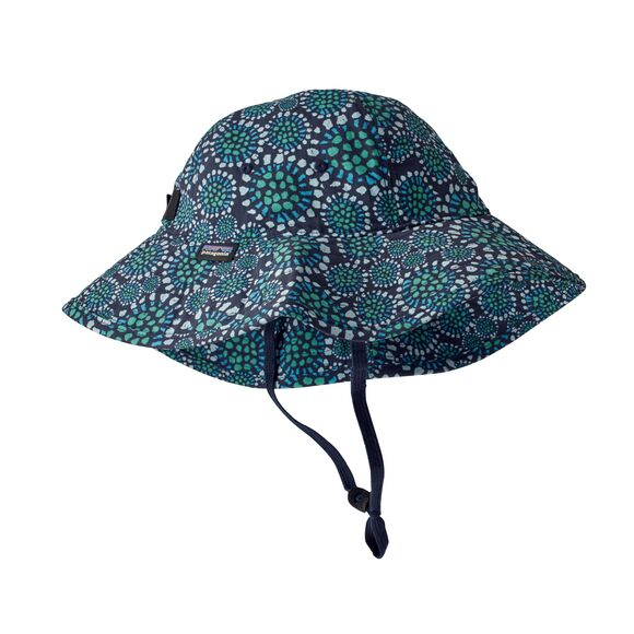 Kids' Trim Brim Hat in Tropical Bloom New Navy by Patagonia