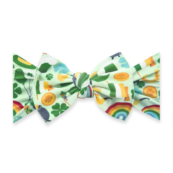 Printed KNOT in Paddy's Party by Baby Bling