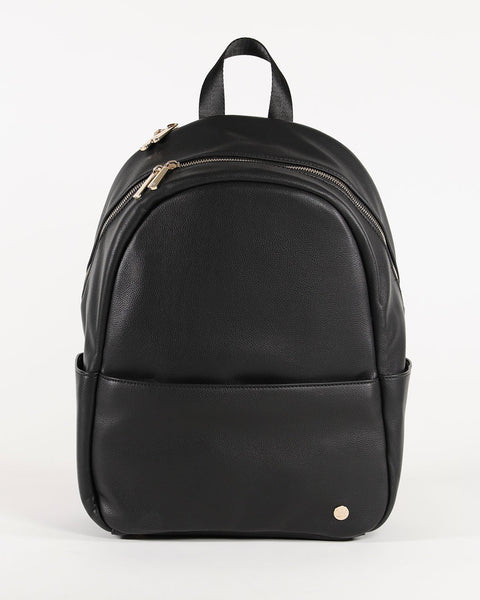Skyline Backpack in Black by Little Unicorn