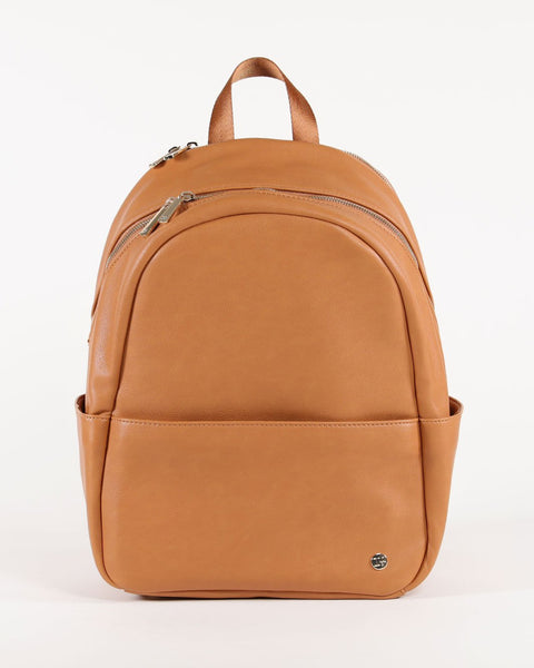 Skyline Backpack in Cognac by Little Unicorn