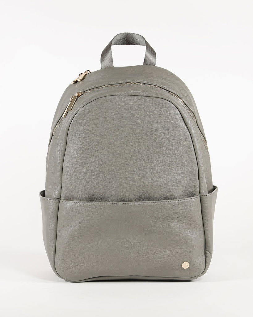 Skyline Backpack in Grey Umber by Little Unicorn