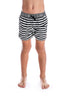 Stripe Swim Shorts by Beau Hudson