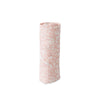 Cotton Muslin Single in Pink Fossils by Little Unicorn