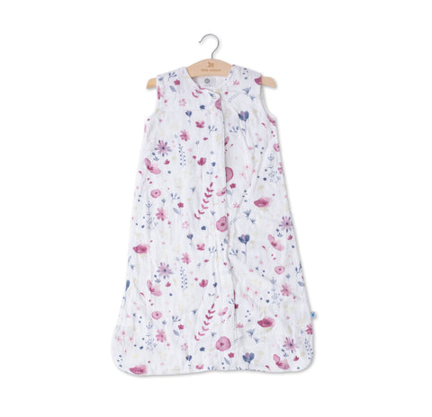 Cotton Muslin Sleep Bag in Fairy Garden