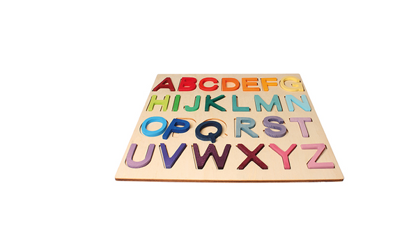 Wooden ABC Game, In Frame