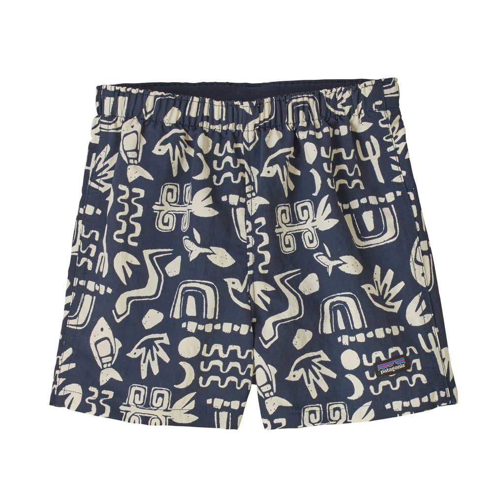 Baby Baggies Shorts in Backyard Explorer: Stone Blue (BDSB) by Patagonia