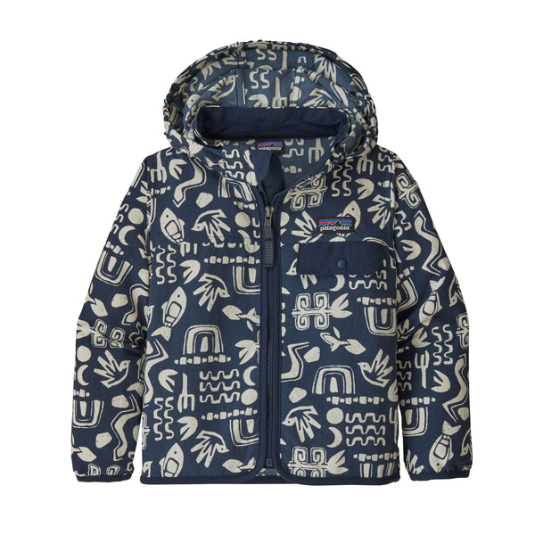 Baby Baggies Jacket in Backyard Explorer Stone Blue (BDSB) by Patagonia