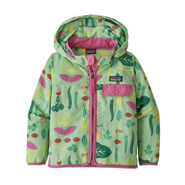 Baby Baggies Jacket in Southern Farm Basket Bud Green (SFBG) by Patagonia