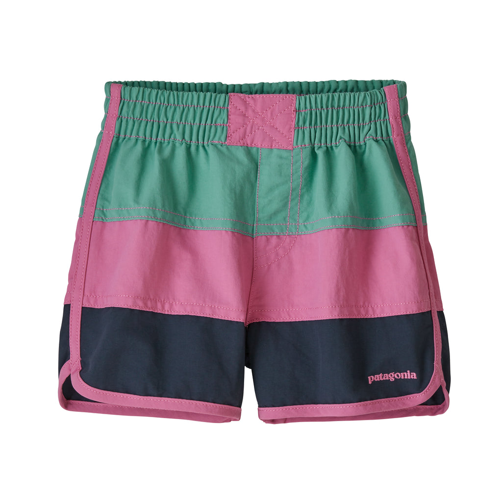 Baby Boardshorts in Light Beryl Green (LBYG) by Patagonia