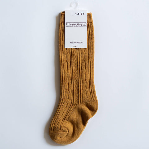 Little Stocking Co. - Mustard Knee High Socks