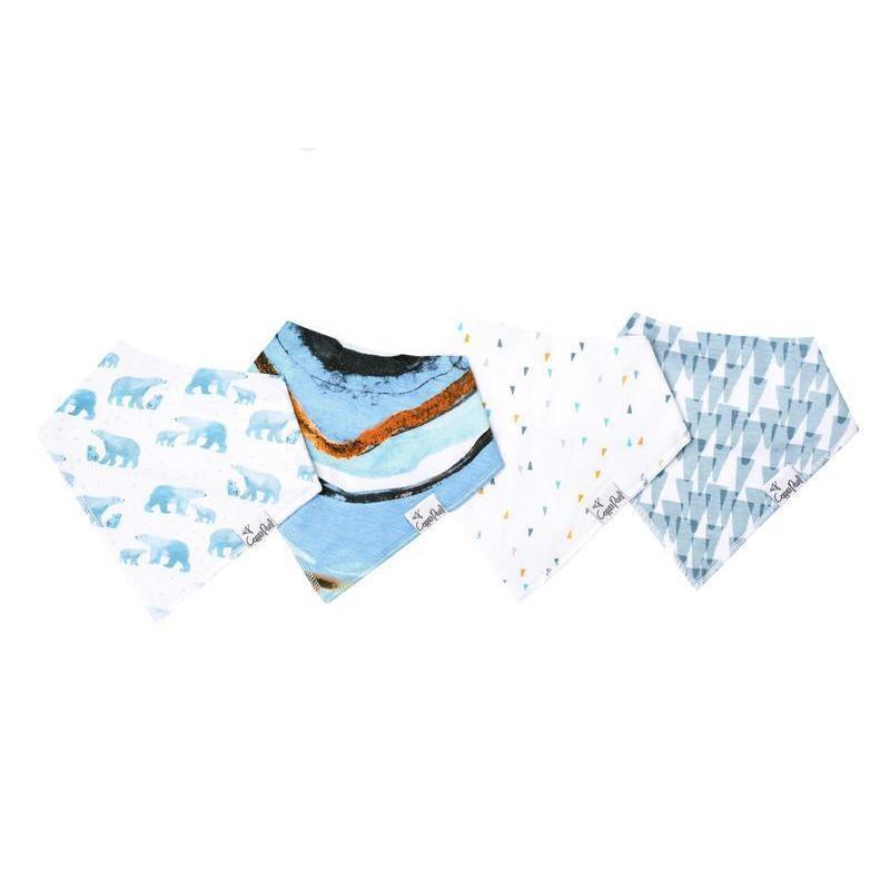 Baby Bandana Bibs in Arctic Set by Copper Pearl