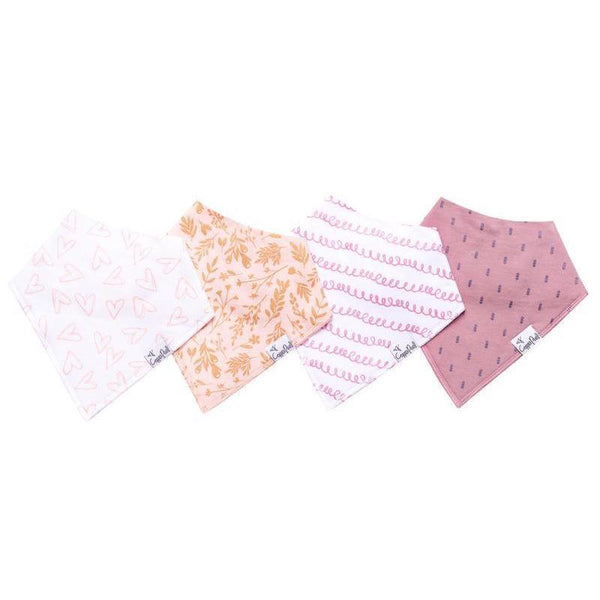 Baby Bandana Bibs in Lola Set