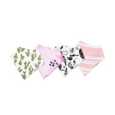 Baby Bandana Bibs in Sage Set